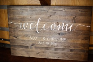 Scott & Christine Wedding at Stone Tower Winery